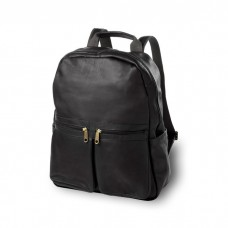 Leather City Laptop Backpack