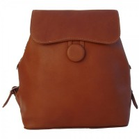 Flap-Over Button Backpack