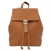 Top Flap Drawstring Backpack