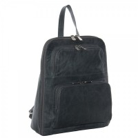 Slim Tablet Backpack W/Front Pockets