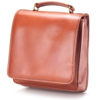Square Bridle Leather Backpack